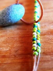 Live In Art: Braided Bead Jewelry: DIY | DIY - jewellery  =  HTM - bijou | Scoop.it