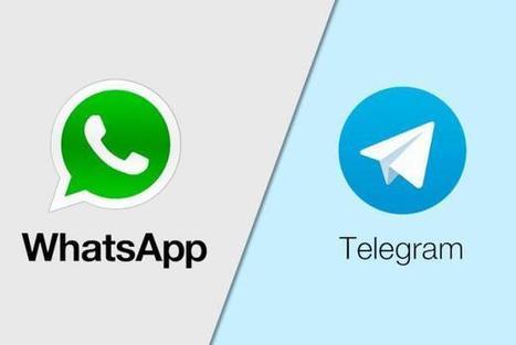 WhatsApp vs Telegram - ¿Cuál es más seguro? | De todo un poco... | Scoop.it