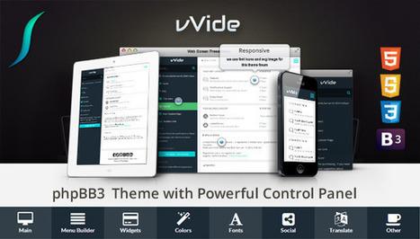 Wide - Bootstrap 3 Responsive phpBB3 Theme - ThemeForest | Web Development | Scoop.it