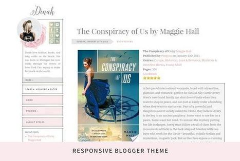 Dinah - Responsive Blogger Theme | Blogger themes | Scoop.it