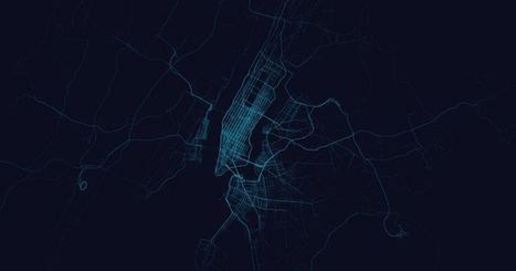 Maps of Where People Uber Show Something About a City's Rich and Young Neighborhoods | Monde géonumérique | Scoop.it