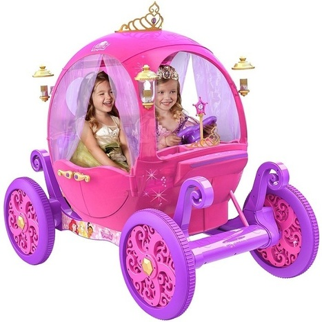 Disney Princess Pink Carriage Review | KidsDimension | Moms | Scoop.it
