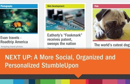 A More Social, Organised and Personalised StumbleUpon | Online Marketing Resources | Scoop.it