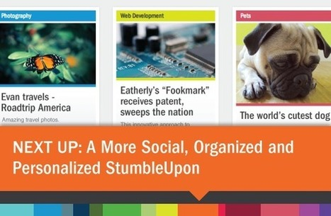 A More Social, Organised and Personalised StumbleUpon   Online Marketing Resources   Scoop.it
