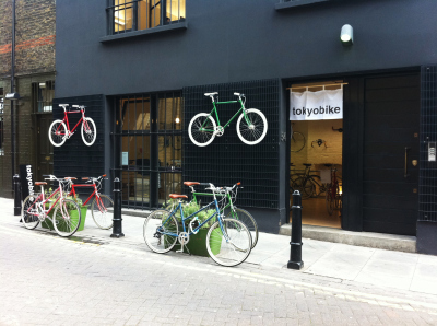 Tokyobike Pop-Up Shop, London | Sustainability Standards & Reporting | Scoop.it
