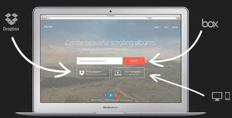 Parade - Create your own scrolling album for free | Digital Presentations in Education | Scoop.it