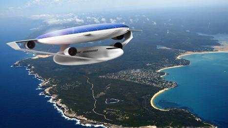 Ecologic Aircraft Design Concept by Daphnis Fournier » Yanko Design | Le flux d'Infogreen.lu | Scoop.it
