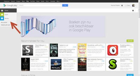 Google begint met Play Books in Nederland: een overzicht van de mogelijkheden - Vakblog | trends in bibliotheken | Scoop.it
