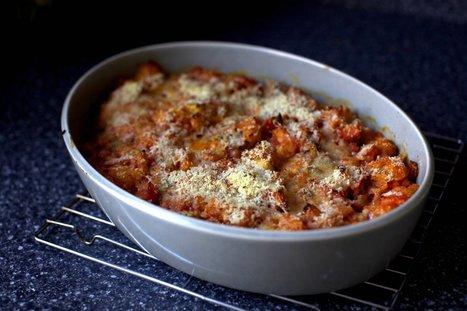 scalloped tomatoes with croutons | Food for Foodies | Scoop.it