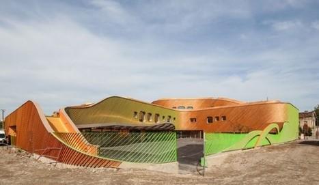 [Saint-Denis, Ile-de-France] : groupe scolaire Niki-de-Saint-Phalle - Paul Le Quernec, architecte | The Architecture of the City | Scoop.it