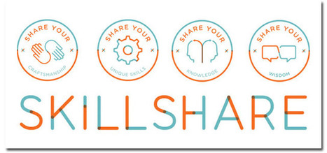 #skillshare is a #mooc tool to learn real-world skills from anyone, anywhere #edtech20 #pln | startup in Semantic Web , Social Media , Web 2.0 , Elearning | Scoop.it