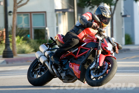 Ducati Streetfighter 848- Middleweight Motorcycles | Cycle World | Ductalk Ducati News | Scoop.it