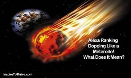 Alexa Ranking Dropping Like A Meteroite To Earth   Seo Tips To Improve Your SEO   Scoop.it