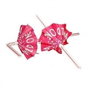 Super Cute Wild One Pink Umbrella Straws | annihankk - Links | Scoop.it