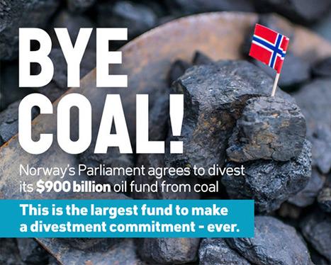 Norway's giant fund to divest coal-reliant companies | Nouveaux paradigmes | Scoop.it