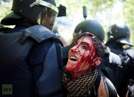 Espagne : La manifestation des mineurs violemment réprimée fait 76 blessés | Shabba's news | Scoop.it