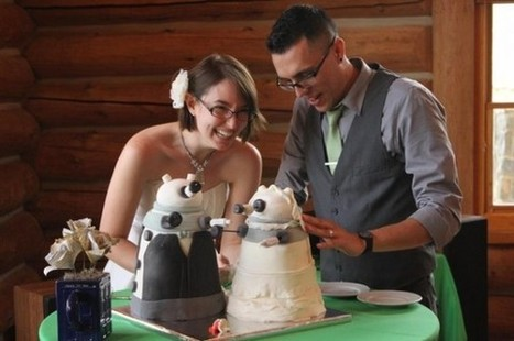 17 Amazingly Geeky Wedding Cakes | Cake And More Cake | Scoop.it