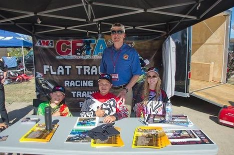 The CFTA thanks Hunter Brooks, Allison Stacey and Clayton Williams for being our... | California Flat Track Association (CFTA) | Scoop.it
