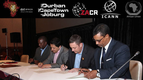 ICANN AND ZACR SIGN LANDMARK DOTAFRICA AGREEMENT | Internet Africa | Scoop.it