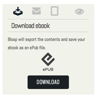 Curate Any Blog or RSS Feed Into a Downloadable eBook with Bloxp | eBook Publishing World | Scoop.it