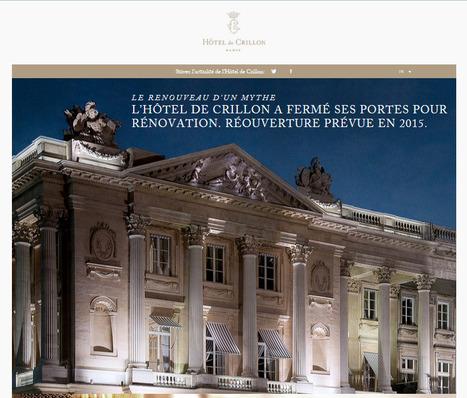 L'Hôtel de Crillon – Le renouveau d'un mythe | Photographe culinaire - Hotellerie - Restauration | Scoop.it