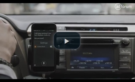 Pub radio interactive en voiture. Toyota innove avec Siri - Offremedia | Radio 2.0 (En & Fr) | Scoop.it