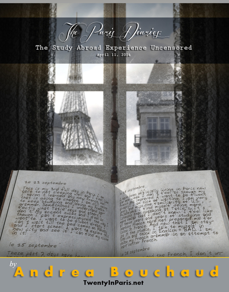 """""""You should never go abroad starry eyed"""" - The Paris Diaries by Andrea Bouchaud 