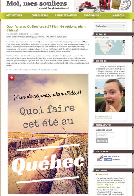 Six conseils pour réussir sur Pinterest | Commercialisation Touristique | Scoop.it