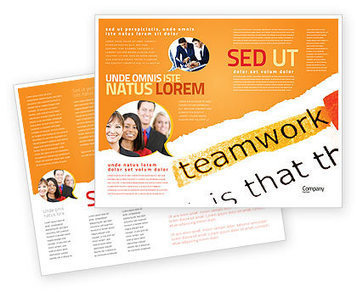 Teamwork Principles Brochure Template | Brochure Templates | Scoop.it