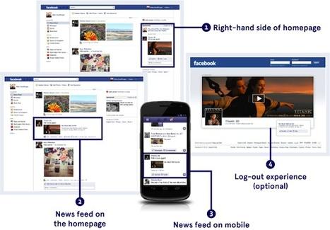 Avec les nouvelles pages et formats publicitaires, Facebook privilégie les marques fortes | Digital Experiences by David Labouré | Scoop.it