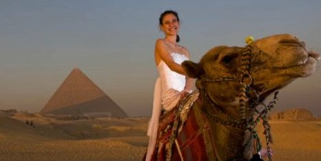 This Wedding Dress Is More Well-Traveled Than You | Kickin' Kickers | Scoop.it