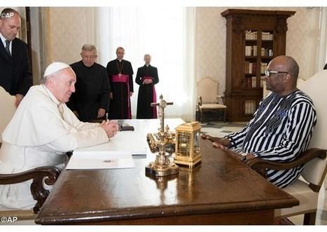 Svätý Otec sa stretol s prezidentom africkej republiky Burkina Faso | Správy Výveska | Scoop.it
