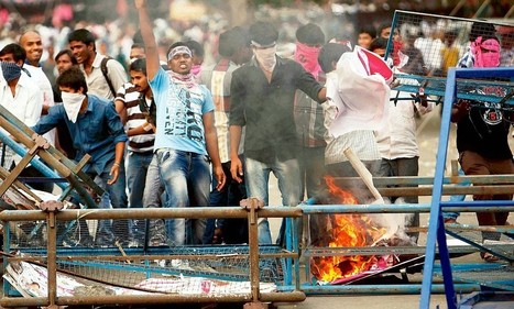Telangana anger leaves parliament in stalemate - Daily Mail | eengenious | Scoop.it