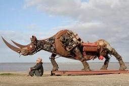 Animaux métalliques par Christian Champin | Recyclage et récupération | Scoop.it