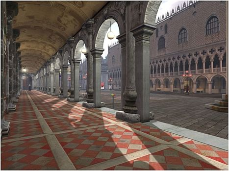 Venice @ PRADA SIM~ Yumix Prada - Second life - Yana | History 2[+or less 3].0 | Scoop.it