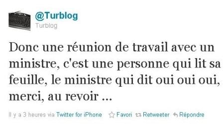 Frédéric Mitterrand, ministre VRP de l'Hadopi- Ecrans   Bibliothèque, rhubarbe et gougnafier   Scoop.it