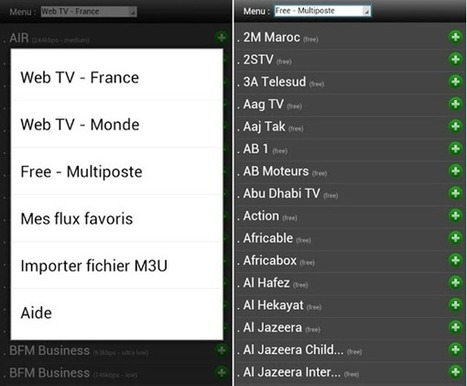 Comment regarder les chaines de la Freebox sur son Smartphone Android? | netnavig | Scoop.it