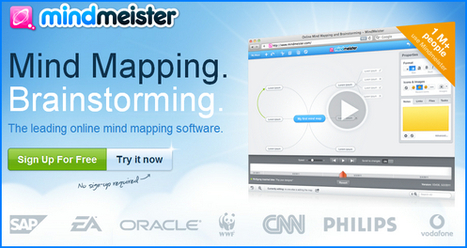 Boost Your Productivity with Mindmapping Tool from Mindmeister | Productivity Applications | Scoop.it