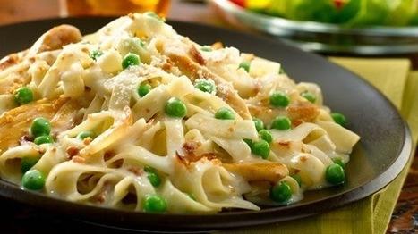 Recipe for Chicken - Smokehouse Bacon Chicken Carbonara | Healthy Food & Easy Recipes | Scoop.it