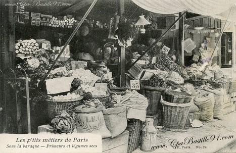 Carte Postale – Les P'tits métiers de Paris – Sous la Baraque | Cartes Postales Anciennes | GenealoNet | Scoop.it