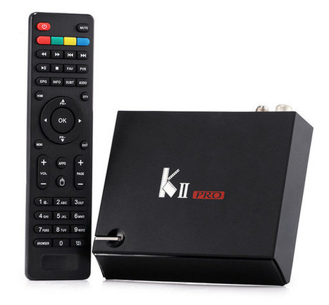 VideoStrong KII Pro Android Set-top Box with DVB-T2 & DVB-S2 Tuners Comes with 2GB RAM | Embedded Systems News | Scoop.it