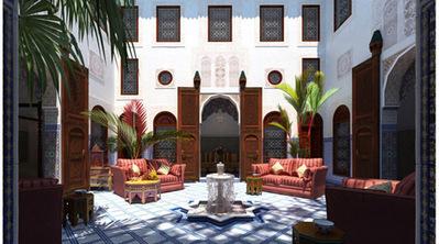 Patio oriental scène 3D   3D Library   Scoop.it