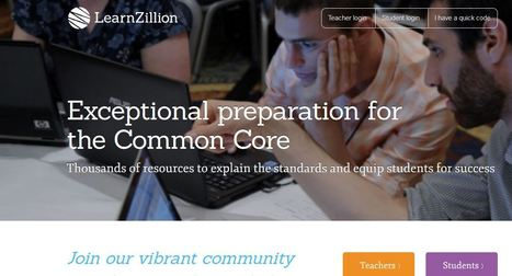 Explore Lessons | LearnZillion | K-12 Research, Resources and Professional Learning Materials for English Language Arts | Scoop.it