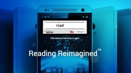 Spritz reader: Getting words into your brain faster | Gerontechnology & Mobile Assistive Tech | Scoop.it