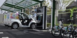 Toyota inaugure une station d'autopartage associant vélos et voitures électriques | Smiling Car | Scoop.it