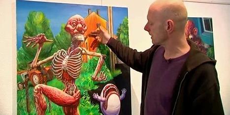 Vincen Massey : le peintre punk inspiré par le rire et les rêves | Yantez | Scoop.it