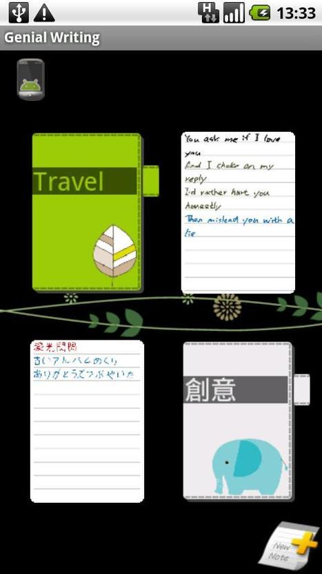 Genial Writing - AndroidMarket | Android Apps | Scoop.it