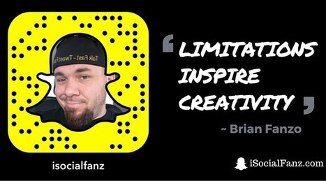 Tips, Links & Blogs that @iSocialFanz Leveraged for Snapchat | Social Media Bites! | Scoop.it