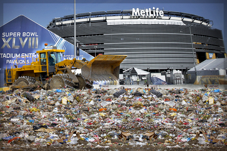 Earth vs. the Super Bowl: America's high holiday of waste, by the numbers - Salon | Sports Sustainability | Scoop.it