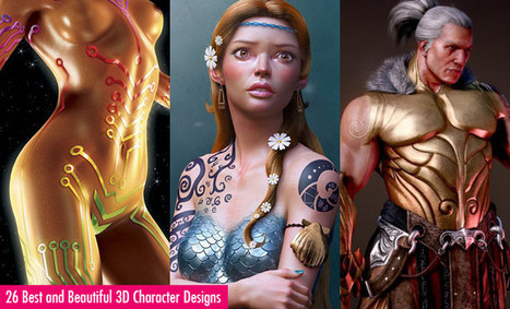 26 Best and Beautiful 3D Character Designs by Fabricio Moraes and Titouan Olive | Arquitetura e Design | Scoop.it
